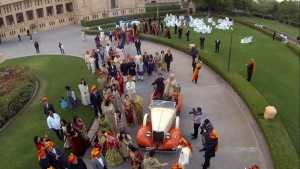 aerial Photography in jaipur prabhdeva anil kapoor