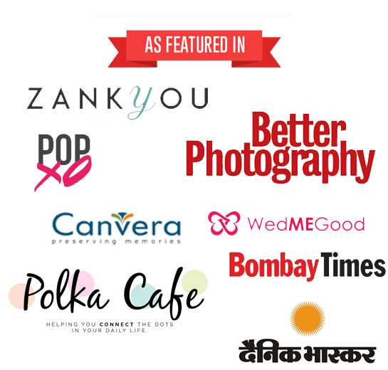 As featured in - candid photography in jaipur